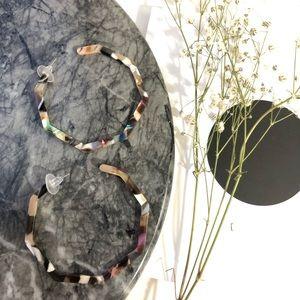 Geometric Resin Earrings